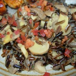 Wild Rice With Mushrooms recipe
