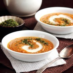 Roasted Butternut Squash and Apple Soup recipe