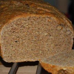 Buckwheat Oat Whole Wheat Bread recipe