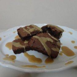 Brownies With Caramel Sauce recipe