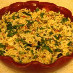 Chilled Orzo Salad recipe
