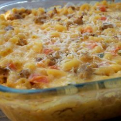 Country Sausage Macaroni & Cheese recipe