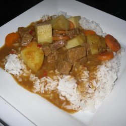 Simple Beef Curry recipe