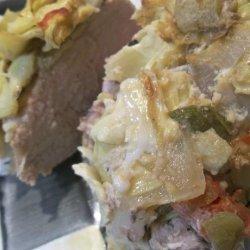 Paleo Stuffed Pork Loin recipe