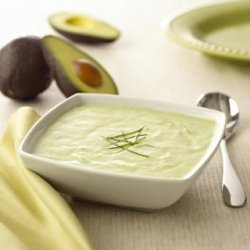 Chavrie Chilled Avacado and Cucumber Soup recipe
