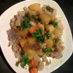 Roasted Veggies With Quinoa recipe