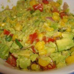 Roasted Corn & Avocado Dip recipe