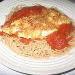 Italian Chicken With Garden Spaghetti recipe