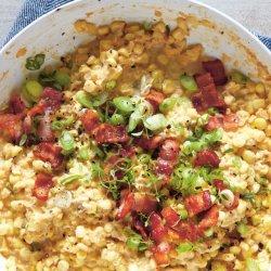 Skillet Creamed Corn recipe