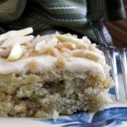 Banana Toffee Bars W/ Browned Butter Icing recipe