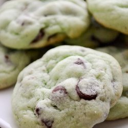 Chocolate Chip Mint Cookies recipe