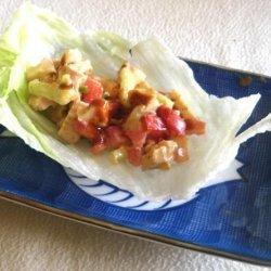Chicken Lettuce Wrap (4 Ww Points) recipe