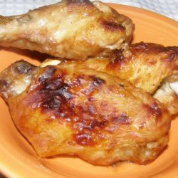 The Easiest Barbecued Chicken Wings Ever!!! recipe