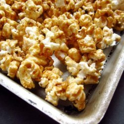 Old Fashioned Caramel Popcorn in the Microwave! recipe