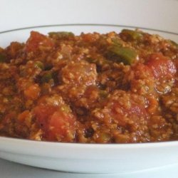 Fake Chili, Vegetarian recipe