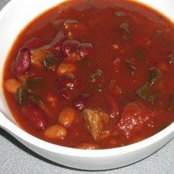 Crock Pot Poblano Chili recipe