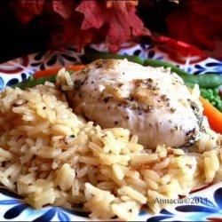 Swanson Citrus Chicken and Rice recipe