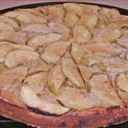 English Apple Cinnamon Coffee Cake recipe
