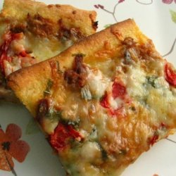 Thai Tuna and Tomato Pizza recipe
