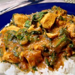 Indian Spiced Chicken & Spinach recipe