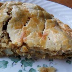 Salmon Foldover Pie recipe