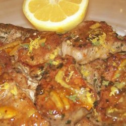 Lemon Marmalade Pork Chops recipe