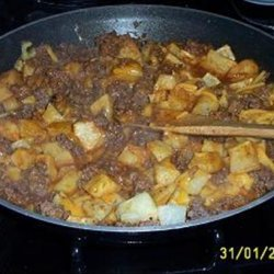 Cheesy Potato Taco Skillet recipe