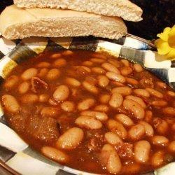 Smoky Baked Beans  (Originally Canary Baked Beans) recipe