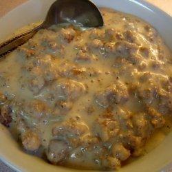Low Carb Sausage Gravy recipe