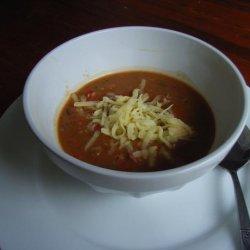 Claire's Mexican Bean Soup recipe