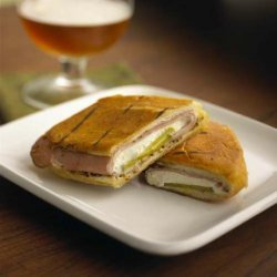 Cuban Sandwich With Fresh Goat Cheese recipe
