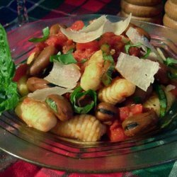 Gnocchi With Broad Beans and Tomato recipe