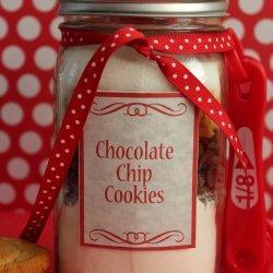Chocolate Chip Cookie Mix in a Jar recipe