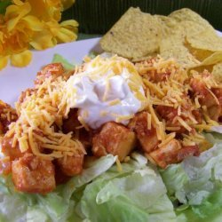 Easy Chicken Taco Salad for Two recipe