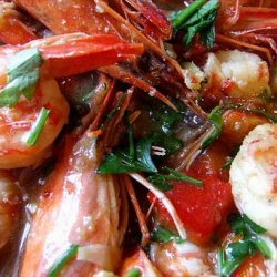 Quick and Easy Skillet Curried Shrimp and Bell Pepper recipe