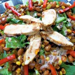 Spicy Warm Chicken Salad recipe