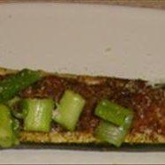 Roasted Zucchini Boats recipe