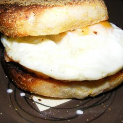 Bacon English Muffins recipe