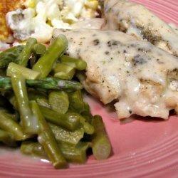 Norfolk Turkey Breast With Asparagus recipe