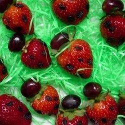 Ladybugs on a Stick(--Tasty Dish--) recipe