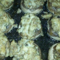 Ellie's Stuffed Mushrooms recipe