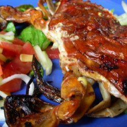 Grilled Soft Shell Crabs With Jicama Salad recipe