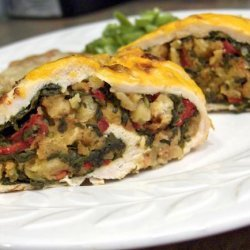 Spinach Stuffed Chicken Breasts for Two recipe