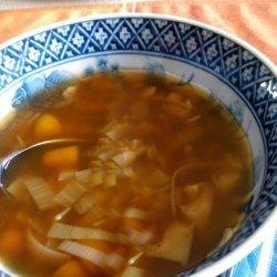 Golden Vegetable Soup recipe
