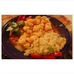 Caribbean Shrimp in Lime Sauce, Flambeed With Rum recipe
