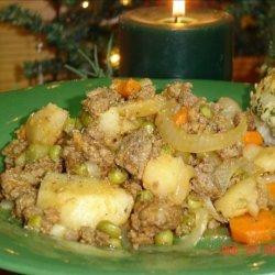 Crock Pot Hamburger Casserole recipe