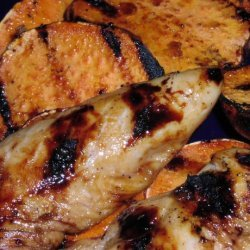 Ww Tropical Chicken With Grilled Sweet Potatoes recipe