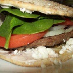 Not Your Typical Lamb Burger recipe