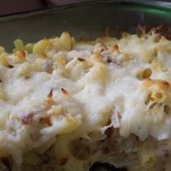 Macaroni and Cheese With Caramelized Onions recipe