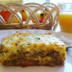 Becky's Southwest Breakfast Casserole recipe